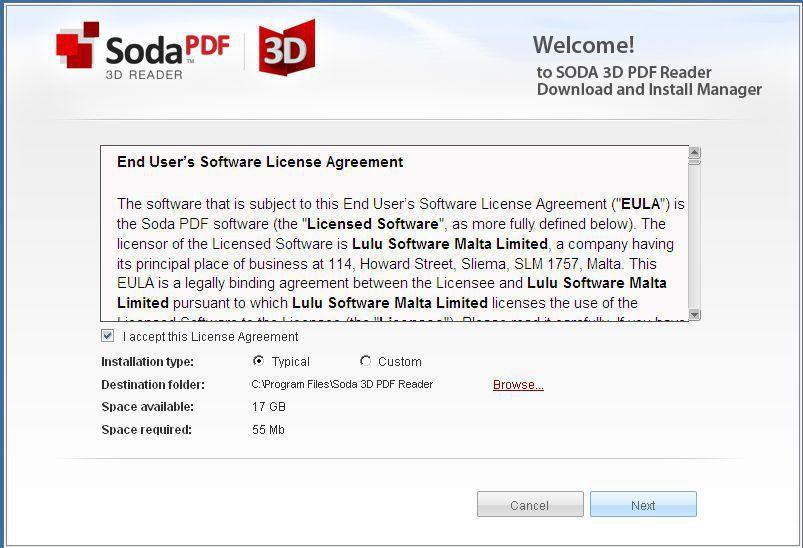 Soda 3D PDF Reader(3D效果免费PDF阅读器)截图1