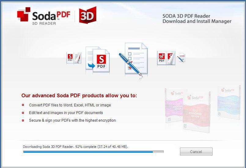 Soda 3D PDF Reader(3D效果免费PDF阅读器)截图5