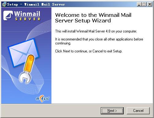 邮件服务器架设软件(Magic Winmail)截图1