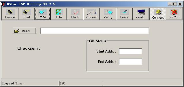 mstar电视芯片烧录软件(mstar isp tool)3.7.5 英文绿色版