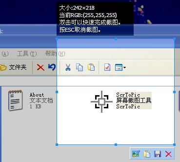 屏幕截图工具(ScrToPic)截图1