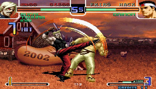 拳皇2002风云再起截图0
