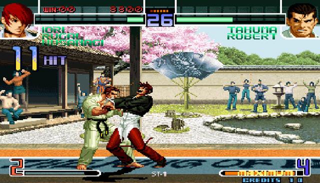 拳皇2002风云再起截图1