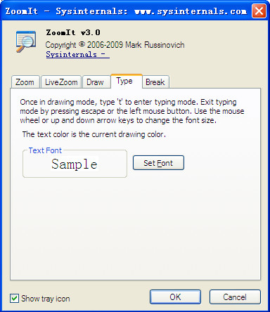 屏幕放大注�工具(ZoomIt)截�D3