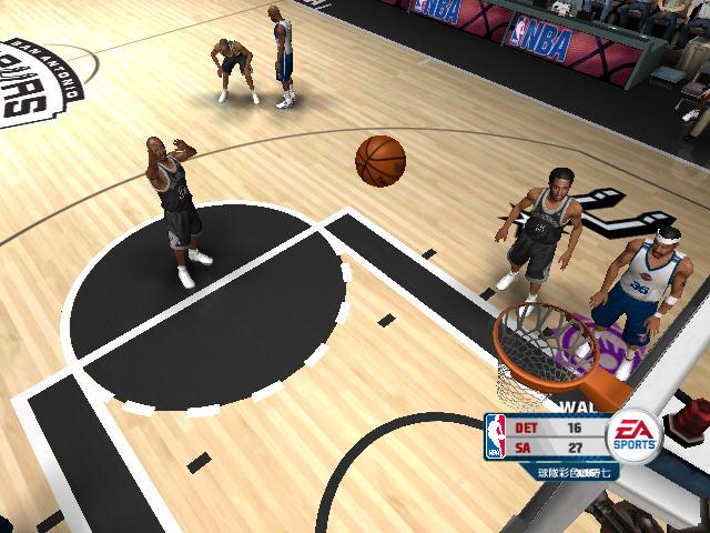 NBA live 2006截图0