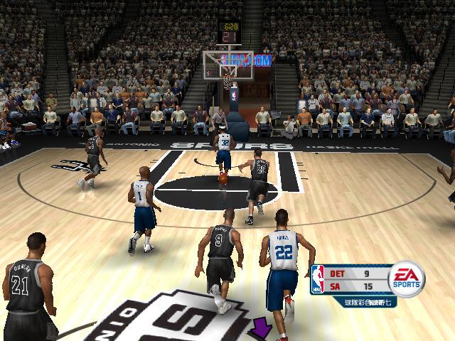 NBA live 2006截图2