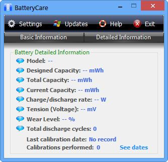 笔记本电池修复软件(BatteryCare)截图1