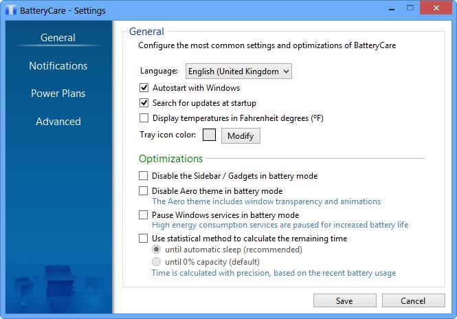笔记本电池修复软件(BatteryCare)截图2