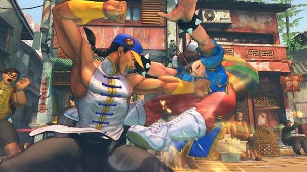 超级街霸4:街机版截图2