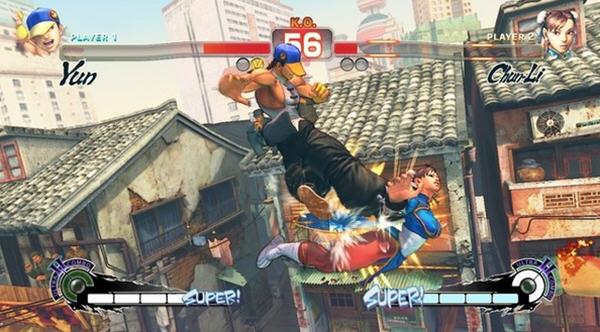 超级街霸4:街机版截图1