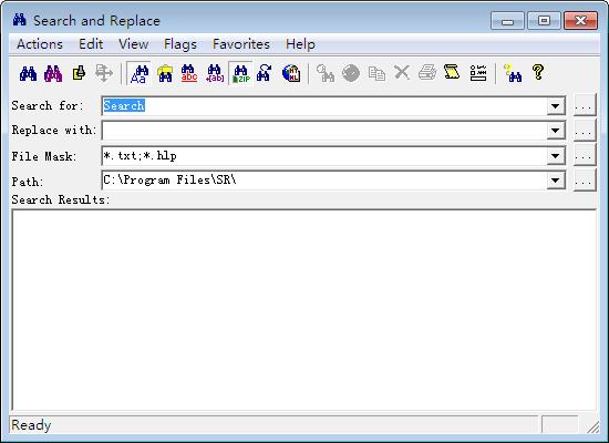 文件搜索替换工具(Search and Replace)截图0