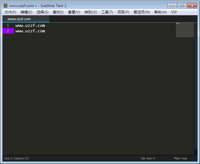 Sublime Text(跨平台文本编辑器)截图0