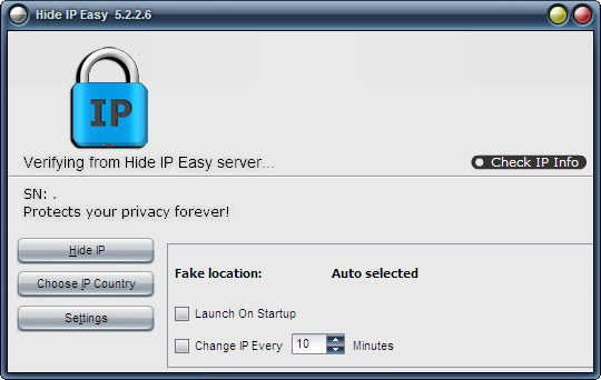 IP地址隐藏工具(Hide IP Easy)截图0