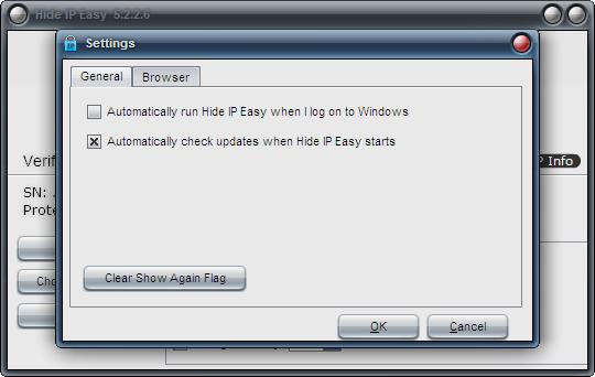 IP地址隐藏工具(Hide IP Easy)截图1
