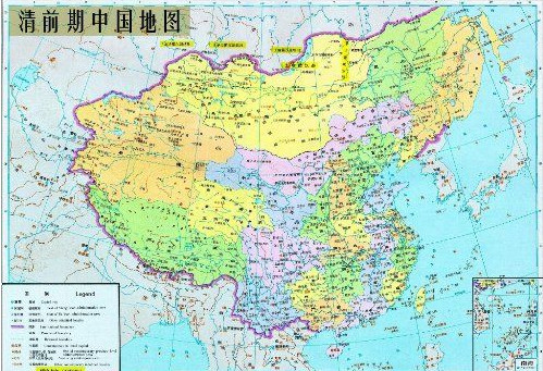 中国历史地图集电子版(清时期)pdf 免费下载图片