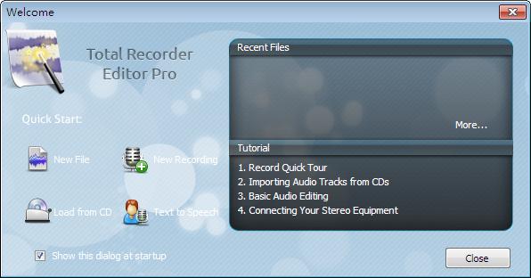 全能录音软件(Total Recorder Editor)截图2