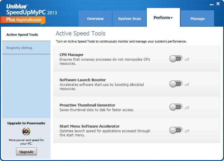 系统优化软件(SpeedUpMyPC 2014)截图2