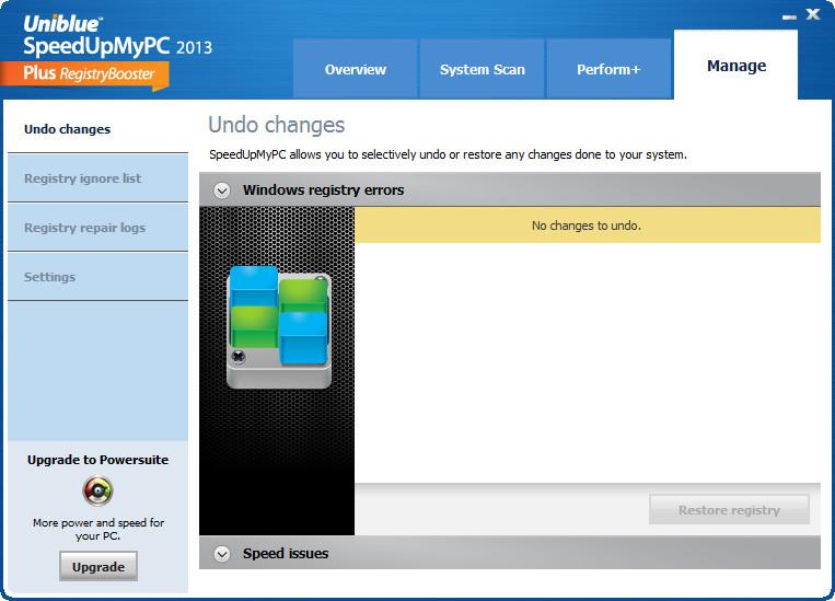 系统优化软件(SpeedUpMyPC 2014)截图3
