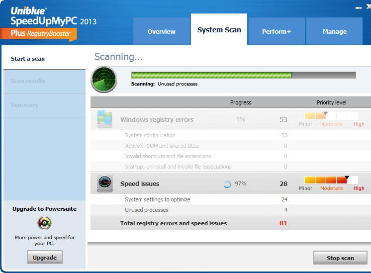 系统优化软件(SpeedUpMyPC 2014)截图0