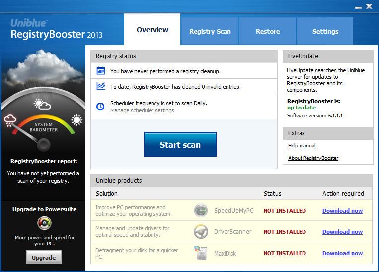 注册表优化软件(RegistryBooster)截图0