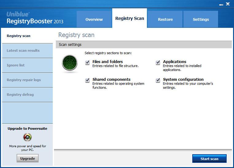 注册表优化软件(RegistryBooster)截图1
