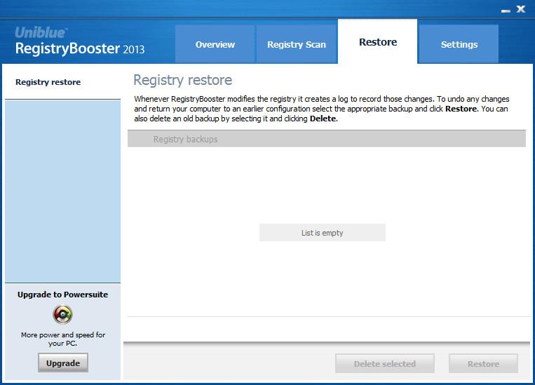 注册表优化软件(RegistryBooster)截图2