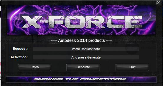 AutoCAD2014注册机(32位/64位)截图0