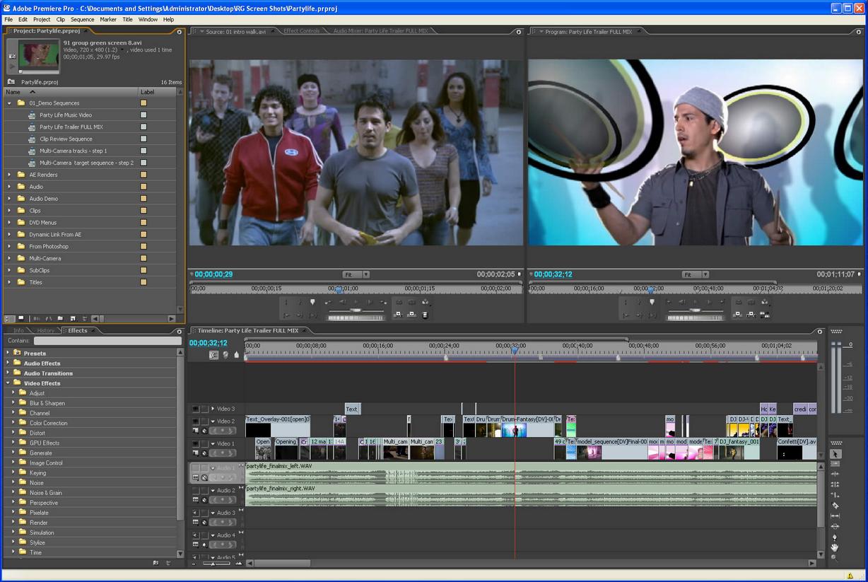 Adobe Premiere Pro CC截图0