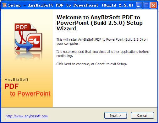 PDF转PPT软件 (AnyBizSoft PDF)截图0