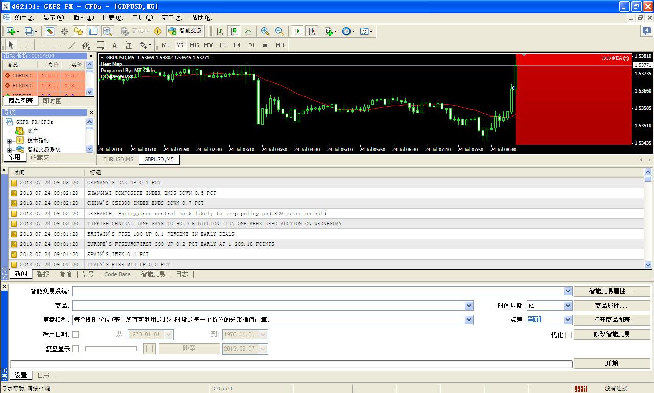 步步高黄金白银外汇智能EA系统截图2