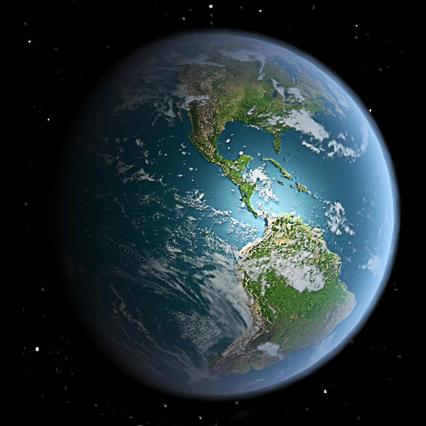 3D高清地球旋转动态壁纸3.1安卓版