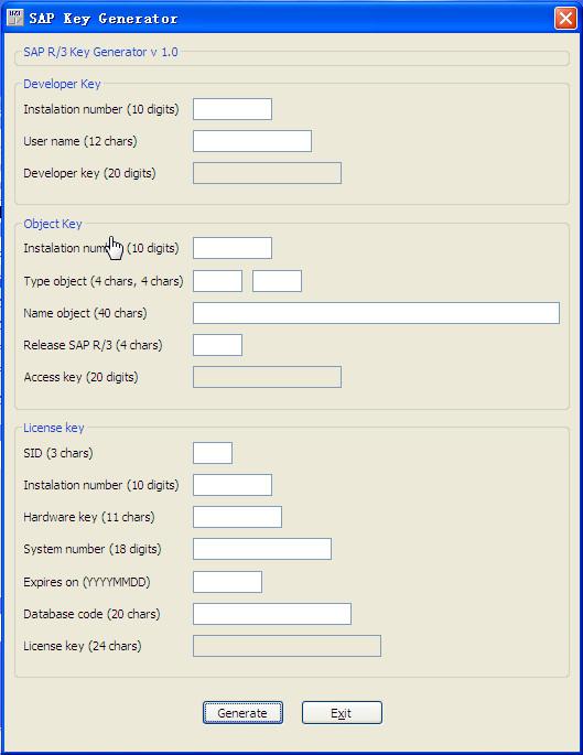 sap license key generator free download