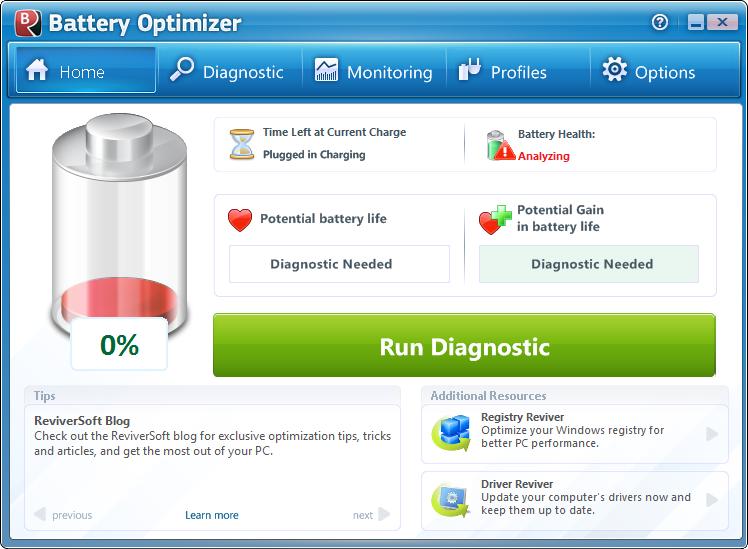 笔记本电池优化软件(Battery Optimizer)截图0