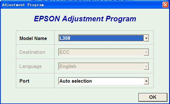爱普生l358清零软件截图0