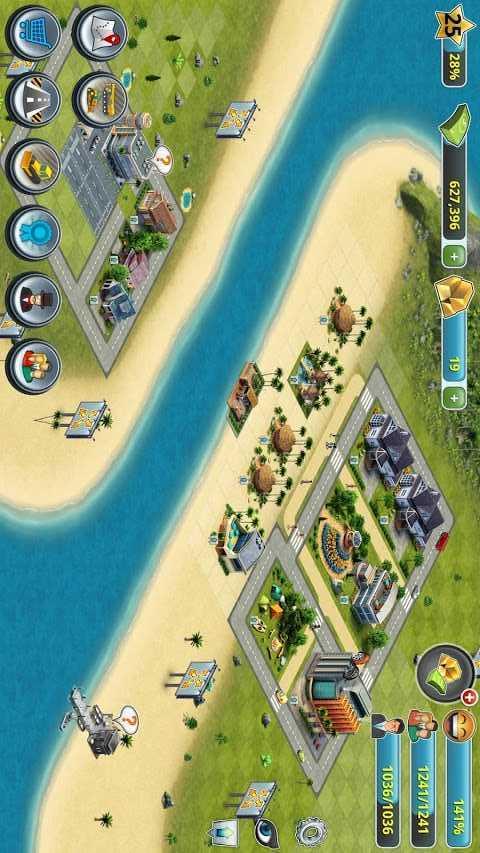 首页 安卓游戏 经营养成 → 城市岛屿3建筑模拟破解版 1.3.1 修改版
