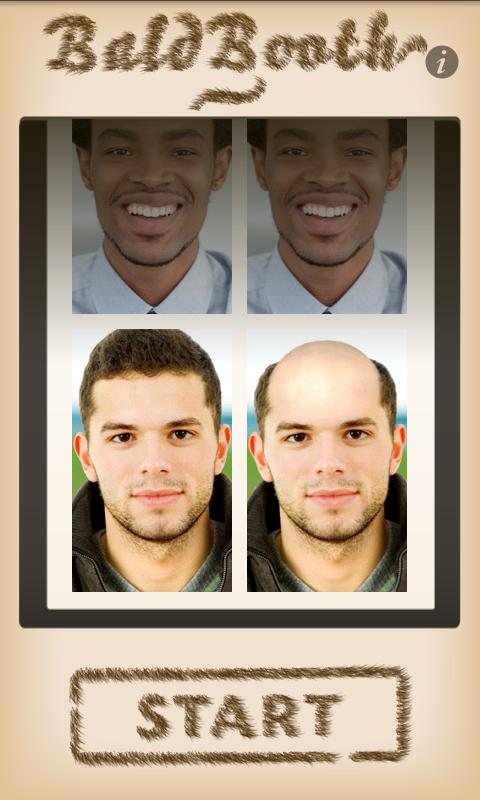 把人变秃头的软件截图