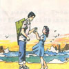在金色的沙滩上教学课件免费下载【共12页】