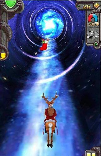 神庙逃亡2圣诞节版截图