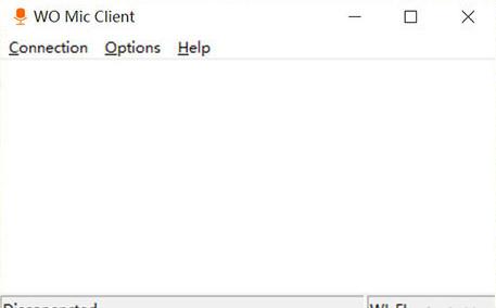 电脑k歌无线麦克风软件(wo mic client 电脑客户端)截图0