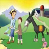 父子骑驴教学课件免费下载【小学语文】