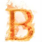 26个火焰英文字母字体模板素材