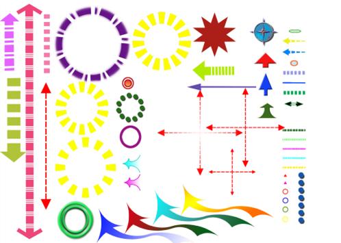 方向箭头设计PSD素材截图0