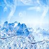 冰山冰块分层PSD分层素材