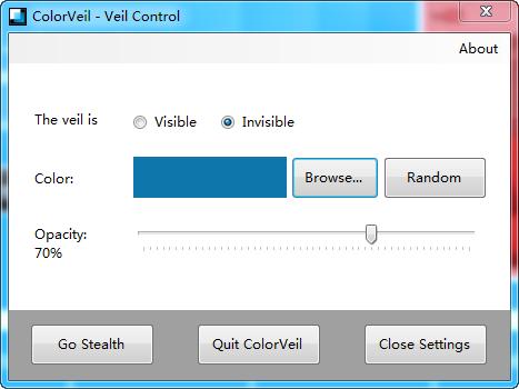屏幕护眼软件(ColorVeil)截图0