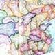 高达9亿像素的中国高清地图(可做桌面背景)高清电子版【免费】