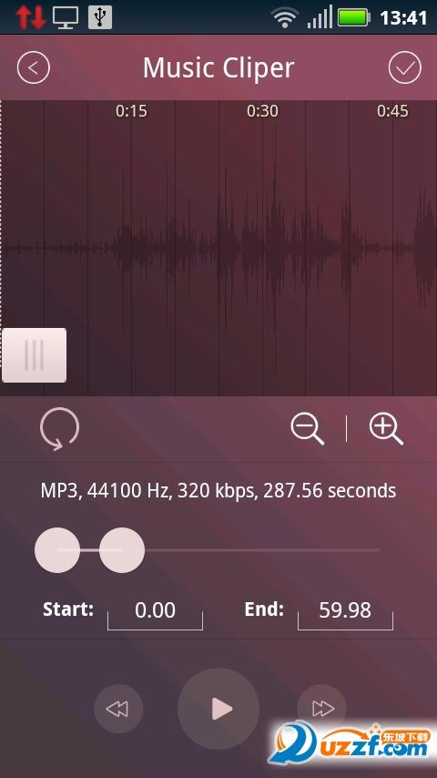 音乐铃声剪辑app截图