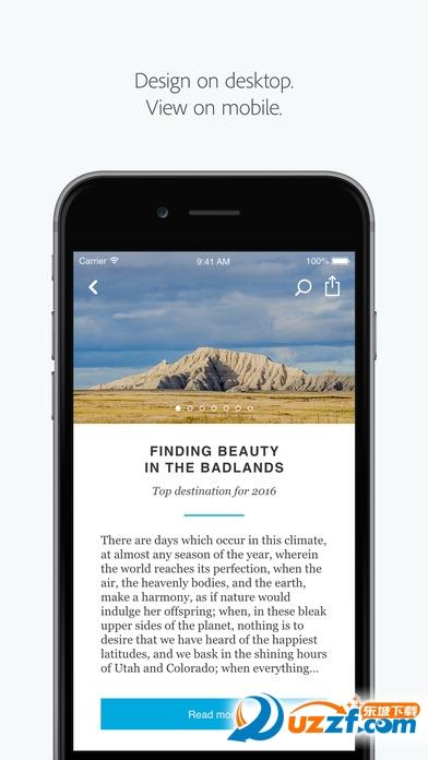 Adobe Experience Design app截图