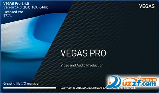 Vegas Pro14 简体中文版【64位】截图0