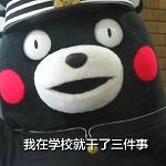 熊本熊我在学校的日常表情包