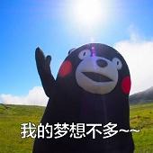 熊本熊我的梦想不多表情包